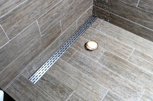 Laticrete Hydro Ban Sloped Shower Pans Linear Drain