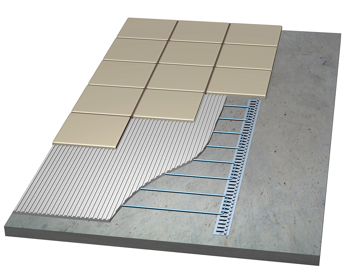 Laticrete Radiant Floor Heating Systems Floor Matttroy