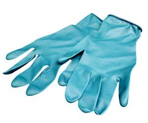 Image 1 BBG80XL - Extra Large Blue Gloves Individual