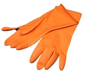 OG80XL - Extra Large Orange Gloves Individual Image 1
