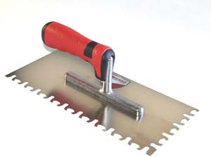 RTC Euro Notch Trowel