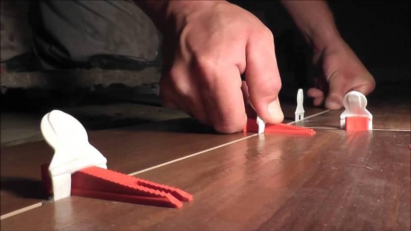 Floor Tile Leveling System