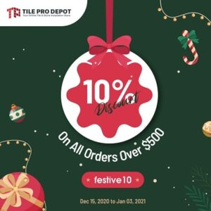 Flat 10% discount on all orders over $500