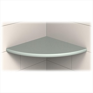 TileWare Boundless Series 9 Inch Corner Shelf