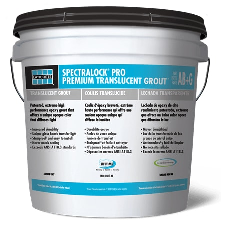 LATICRETE SPECTRALOCK PRO Premium Translucent Grout - Full Kit