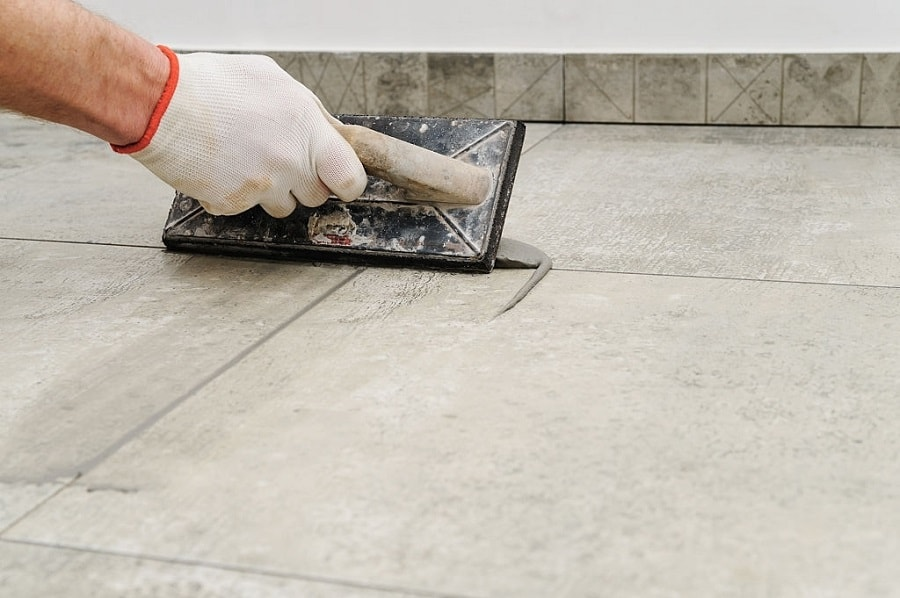 How to grout subway tile